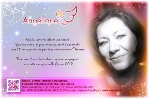 Angélique vous souhaite une Excellente Année 2012