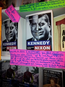 """Kennedy Nixon"" de Georges Ayache chez Perrin"