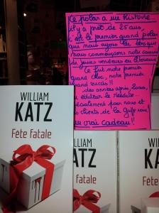 """""""Fete Fatale"""" de Katz aux Presses de la Cité"""