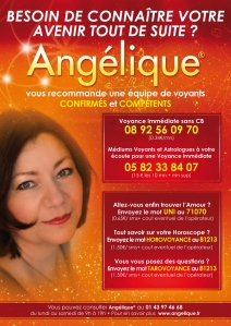 Angélique recommande une équipe de Médiums spécialisée dans les Arts Divinatoires