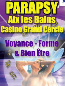 Angélique présente sur le salon Parapsy 2014 à Aix-Les-Bains
