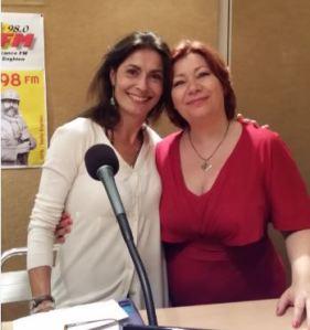 Mahatmi et Angélique sur IDFM98