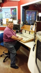 Rudy, animateur sur Radio Puisaleine