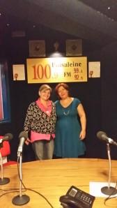 Edwige Denhin et Angélique sur Radio Puisaleine