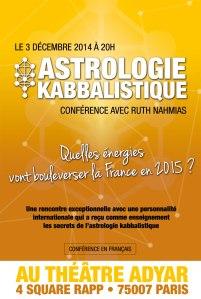 Ruth Nahmias en conférence à Paris le 3 décembre 2014