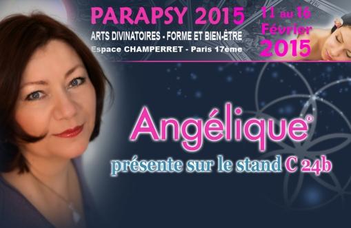 Angelique consulte au stand c24 sur Parapsy 11 au 16 février 2015