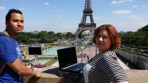 Astro Vidéo Angélique avec Stéphane