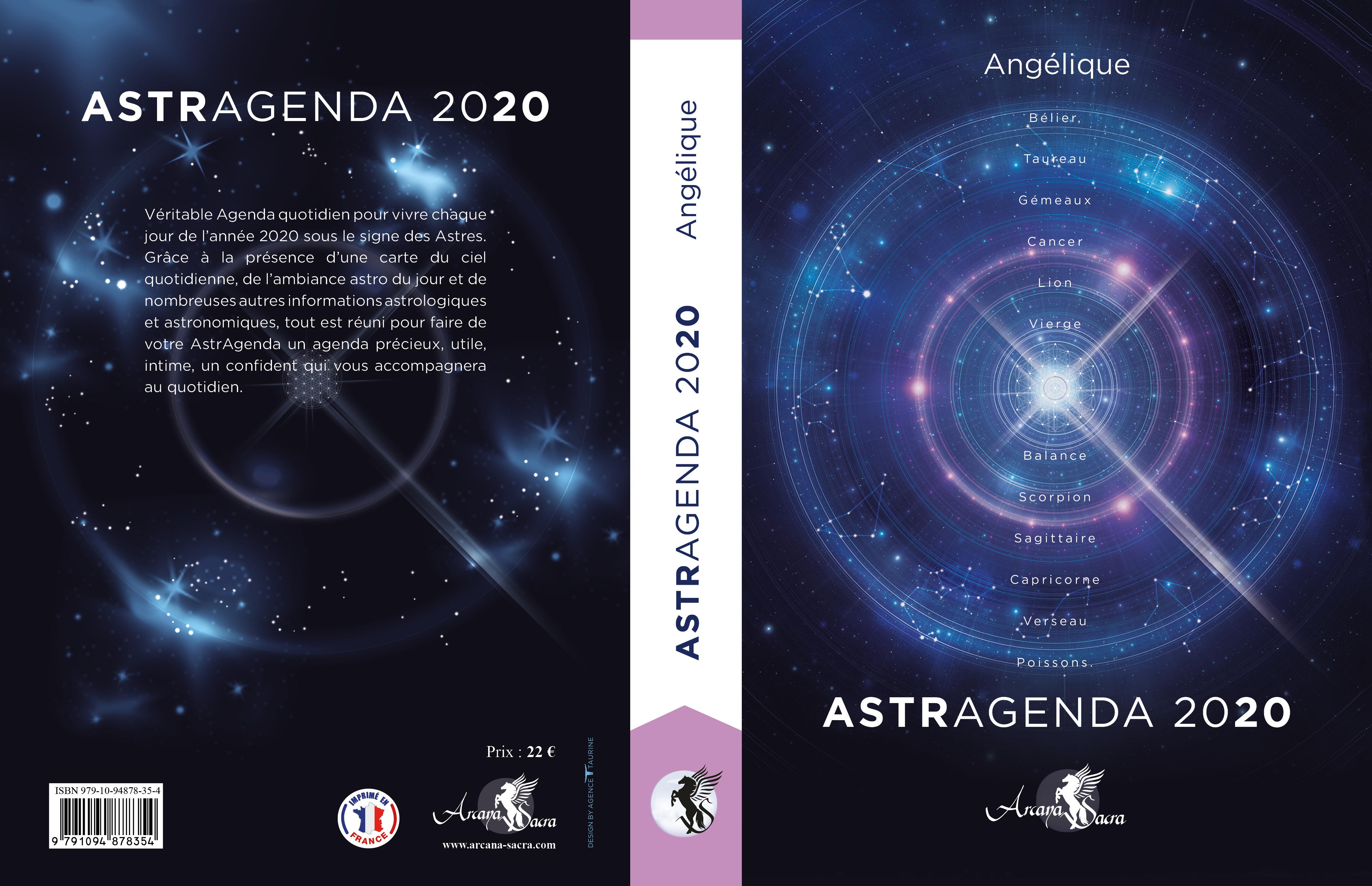 Astragenda 2020 par Angélique