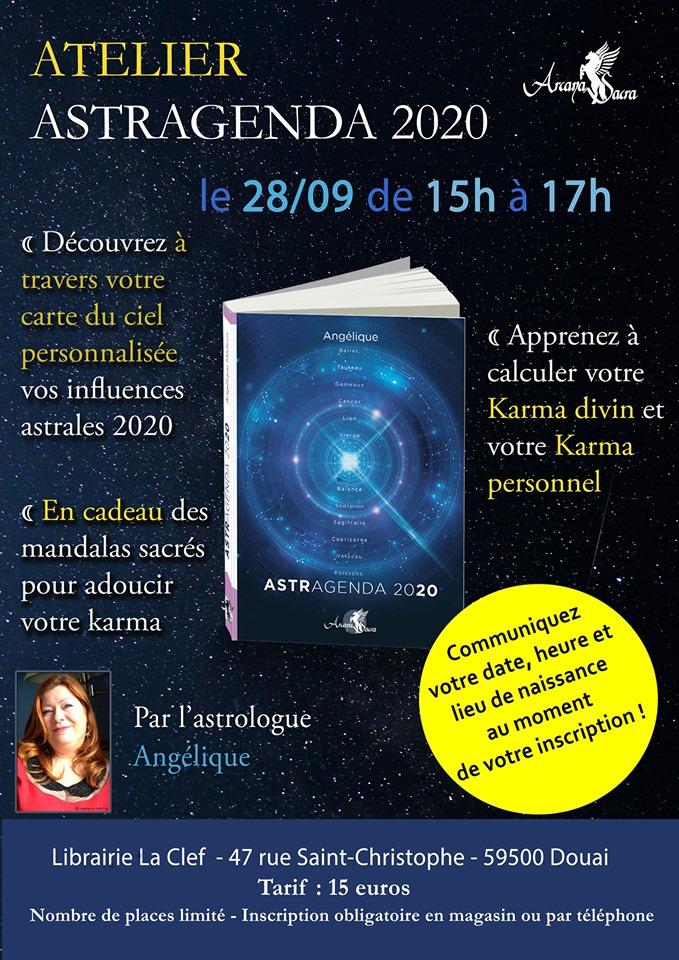 Angélique présente l'horoscope du lundi au vendredi sur IDFM Radio Enghien. Retrouvez-là sur www.angelique.fr Elle sera en conférence dédicace le 27 septembre à la librairie La Clef à Douai de 19h à 21h et le lendemain en atelier de 15h à 17h