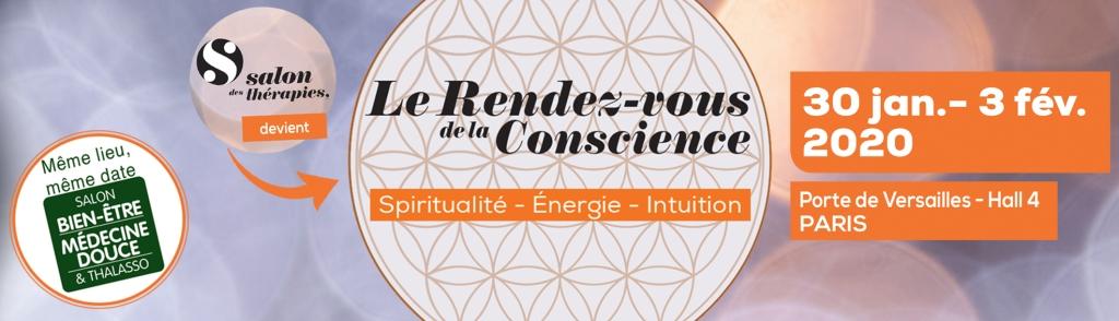 Consultez Angélique sur le Salon Le Rendez-vous de la Conscience au sein du Salon Médecines Douces du 30 janvier au 03 février 2020